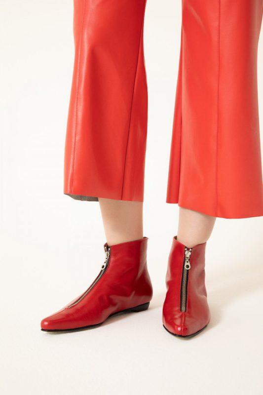 botitas rojas invierno 2021 Vitamina calzados