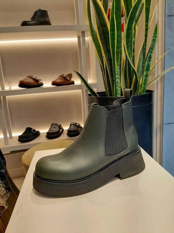 botitas verde militar invierno 2021 Chao Shoes