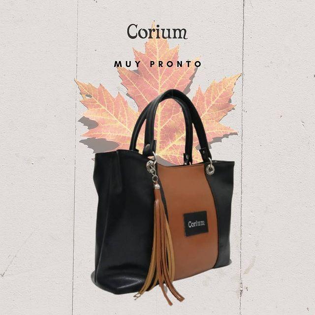 carteras negras y marrones invierno 2021 Corium