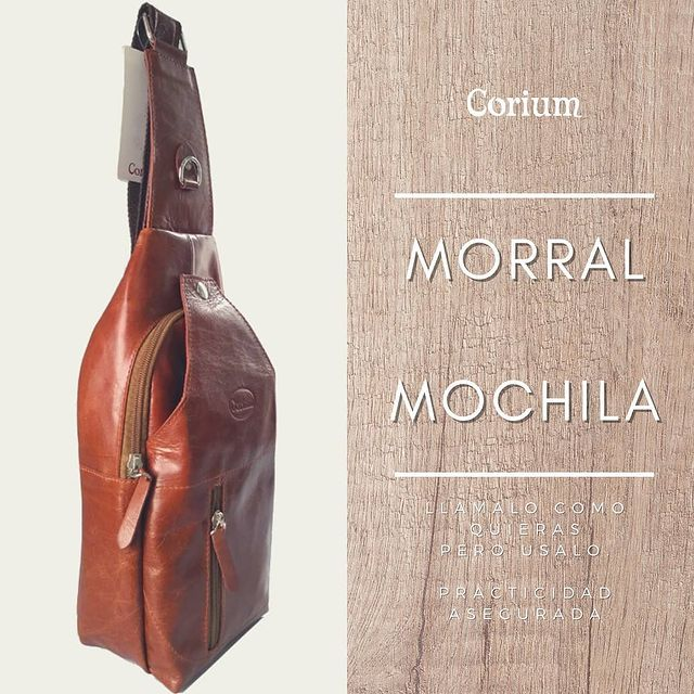 mochila de cuero invierno 2021 Corium