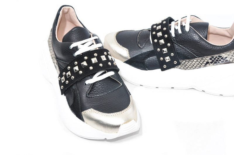 zapatillas negras invierno 2021 Credo