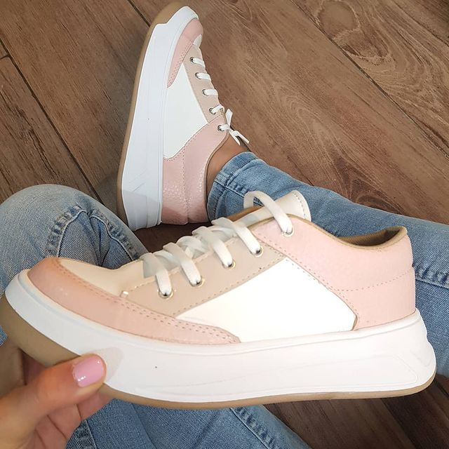 zapatillas rosa invierno 2021 NEXT FASHION