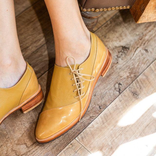 zapato punta fina acordonado invierno 2021 Cestfini
