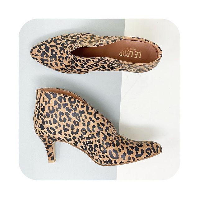 zapatos animal print invierno 2021 Le Loup