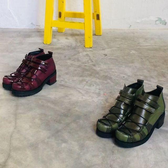 zapatos taco medio invierno 2021 Chwala