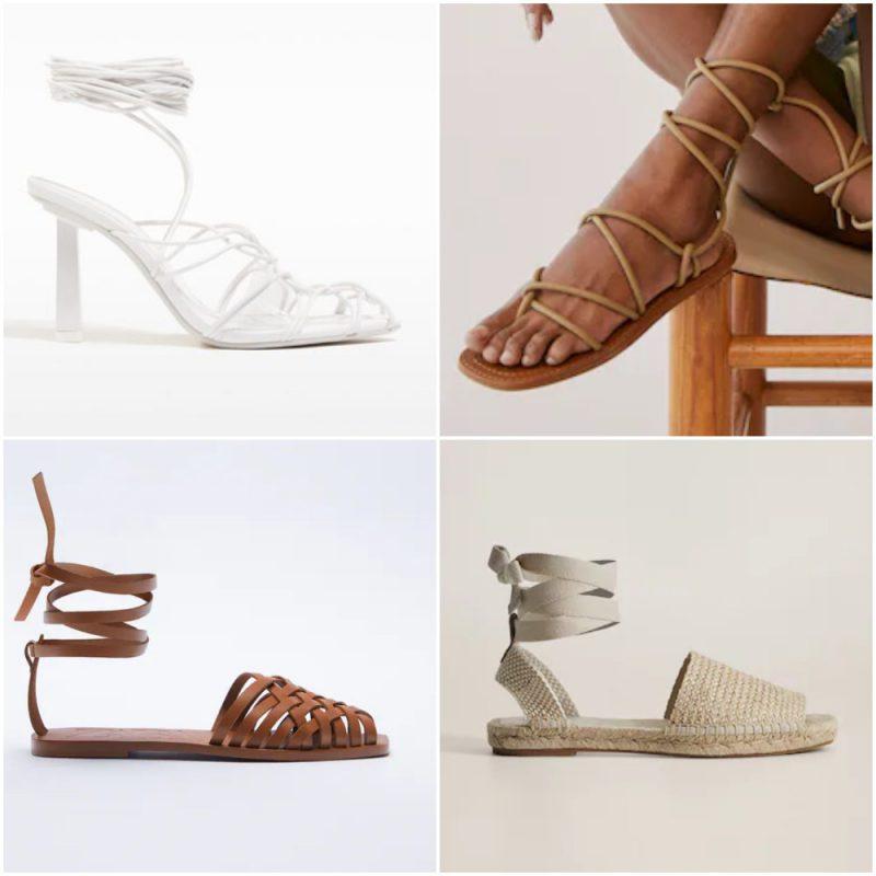 Romanas sandalias de moda verano 2022