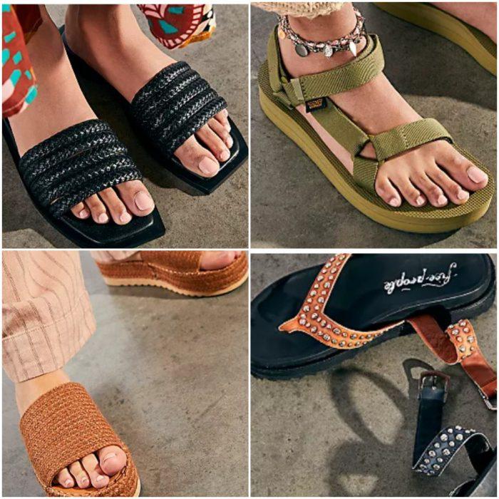Sandalias de moda para mujer verano 2022 Argentina