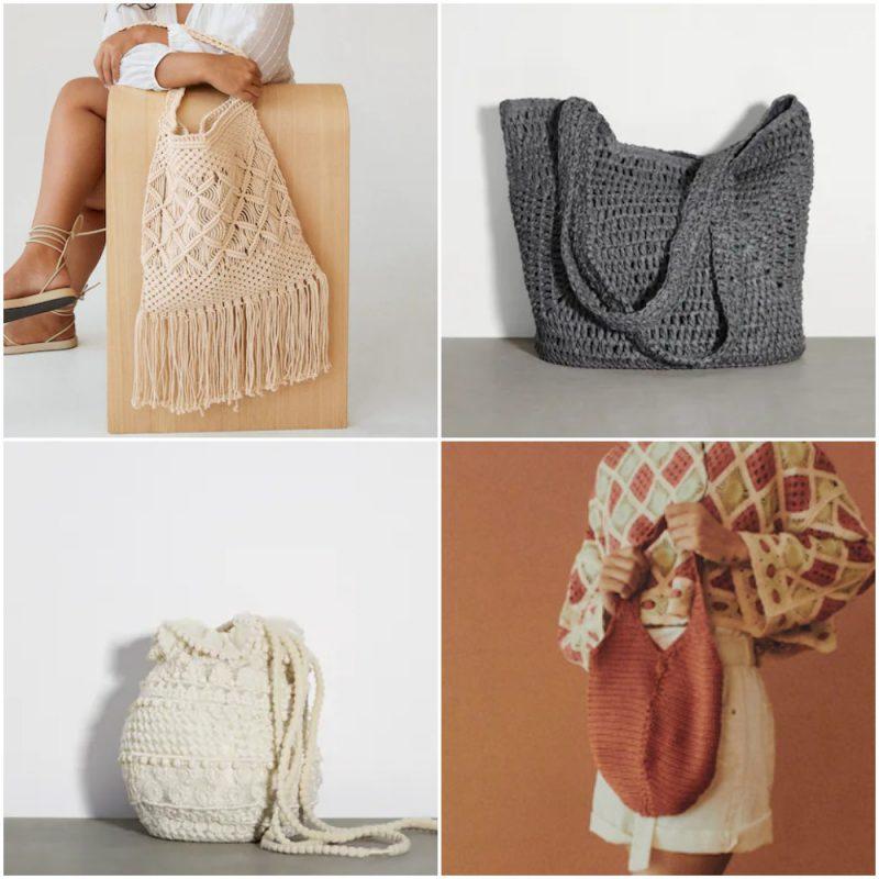 carteras tejidas Moda en carteras para mujer verano 2022