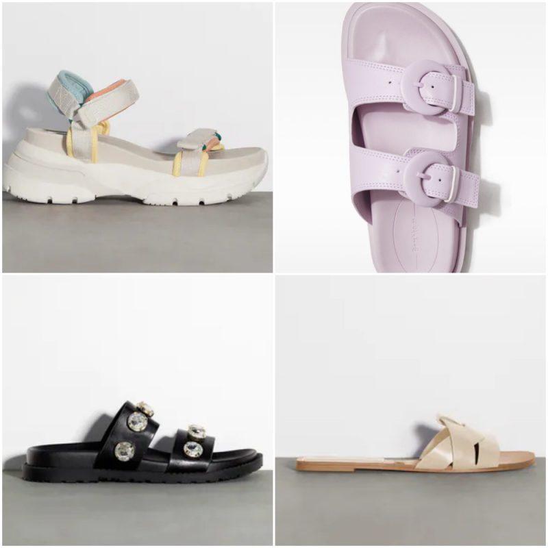 multiples tiras achas sandalias de moda verano 2022