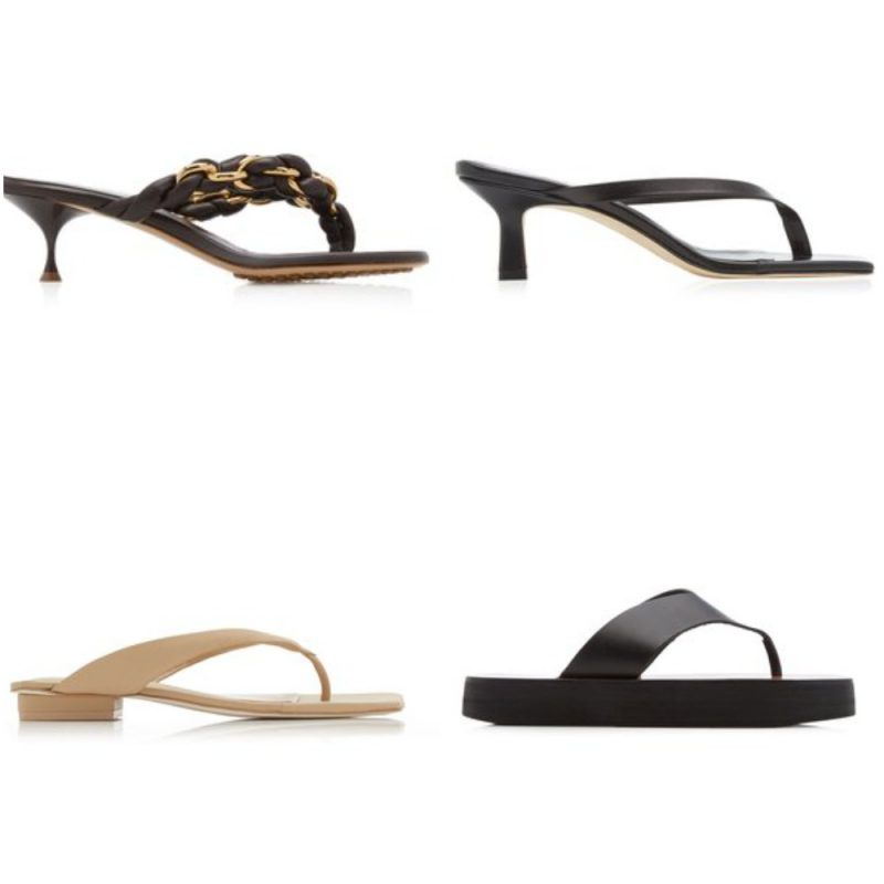 ojotas sandalias de moda verano 2022