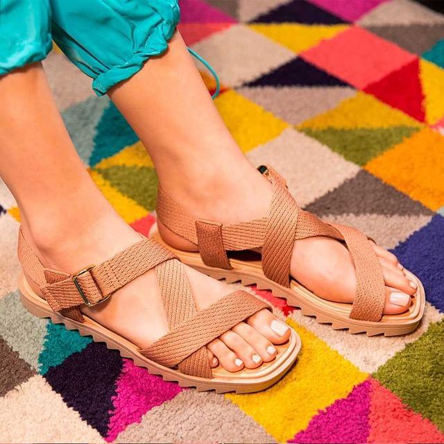 sandalias cruzadas verano 2022 Calzados Moleca