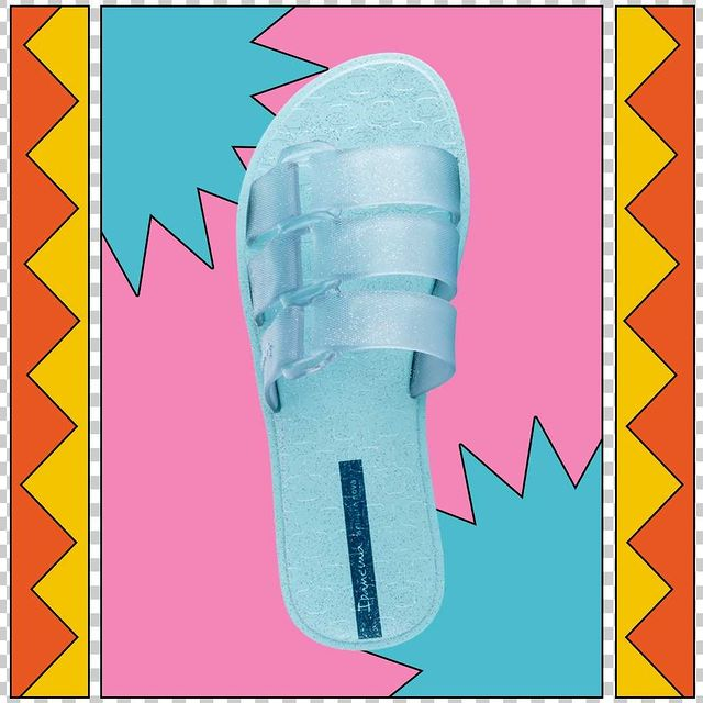 sandalias material transparente celeste verano 2022 calzado Ipanema