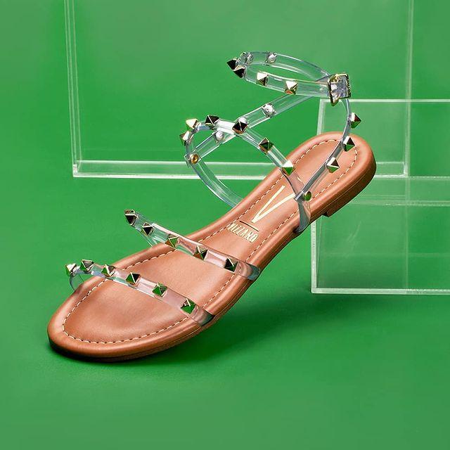 sandalias tiras finas transparentes verano 2022 Vizzano
