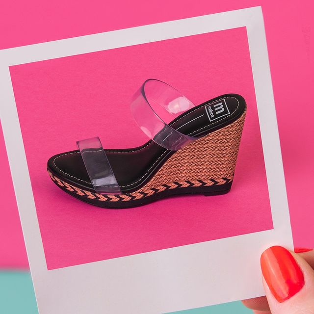 sandalias transparentes con cuna verano 2022 Calzados Moleca