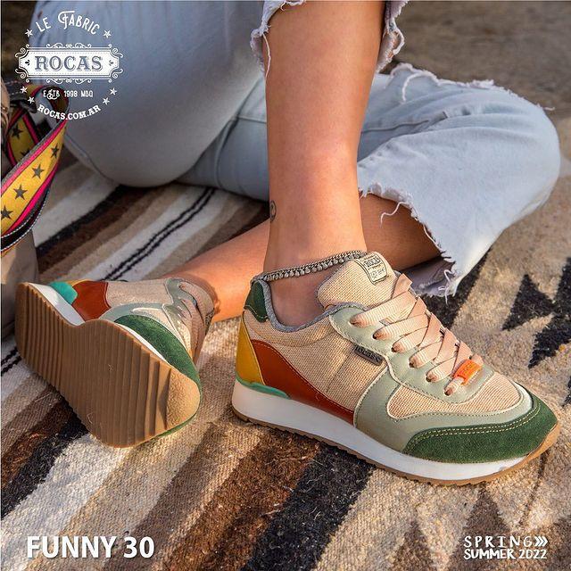 zapatillas tonos tierra verano 2022 Rocas Calzados