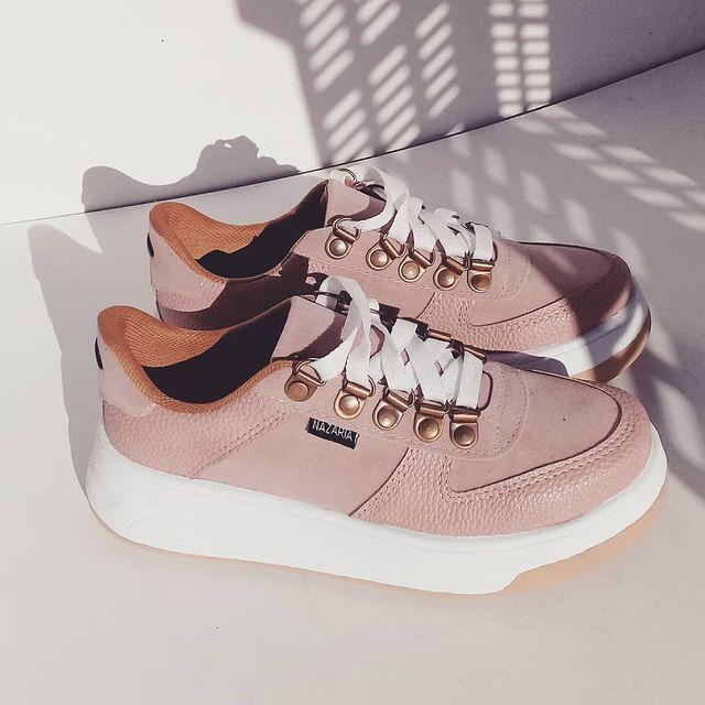Zapatillas rosa viejo primavera verano 2022 Nazaria