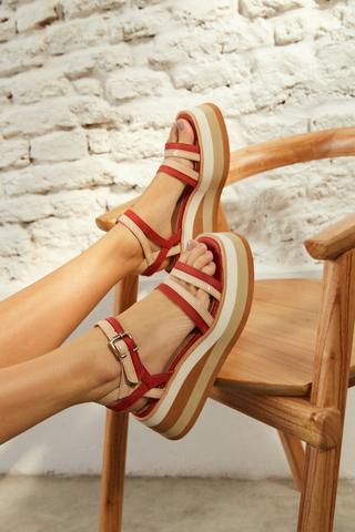 sandalias bordo verano 2022 Calzados Traza