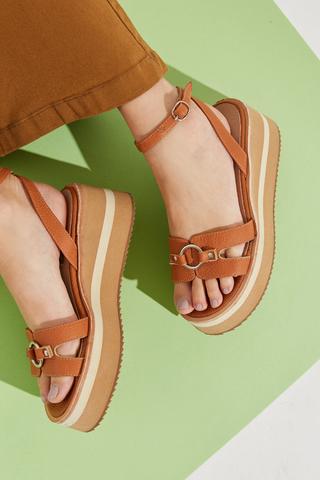 sandalias marrones verano 2022 Calzados Traza