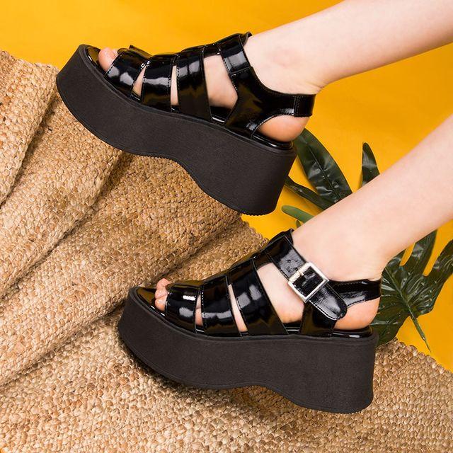 sandalias plataformas altas verano 2022 FIORI calzature
