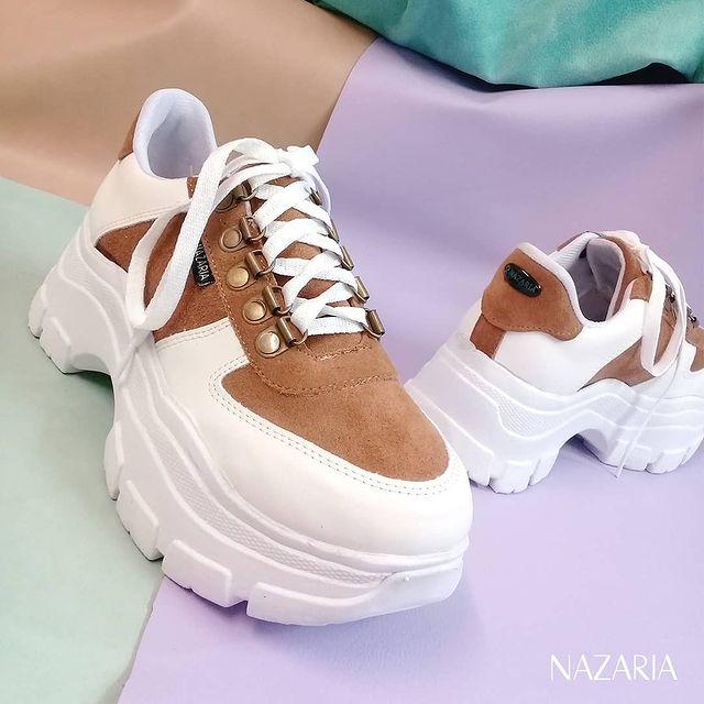 zapatillas base alta primavera verano 2022 Nazaria