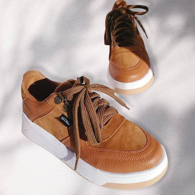 zapatillas marrones para mujer primavera verano 2022 Nazaria