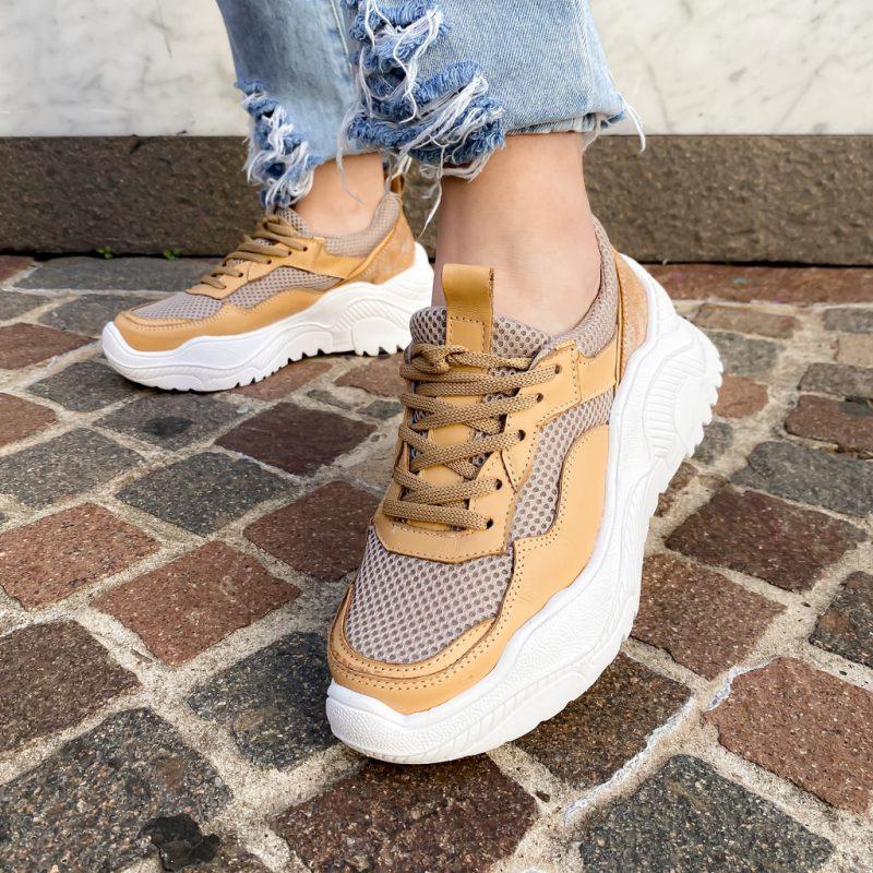 zapatillas mostaza verano 2022 calzados Mannarino
