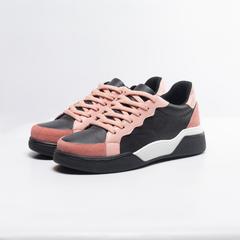 zapatillas negra y rosa primavera verano 2022 Bettona