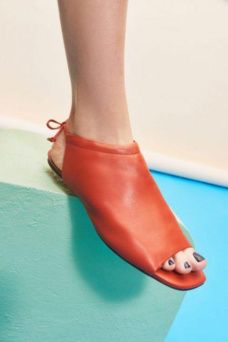 zapatos planos pnta abierta para mujer verano 2022 Mishka