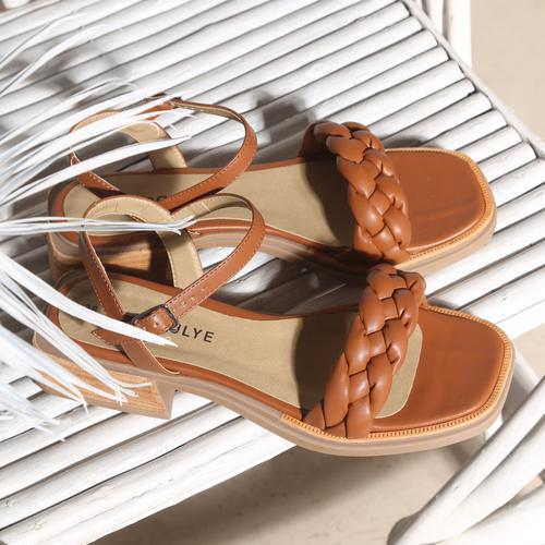 Sandalias planas trenzadas verano 2022 Fragola calzados