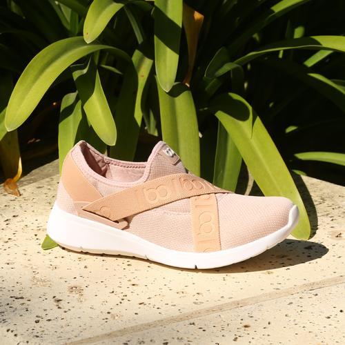 Zapatillas rosa con elastico verano 2022 Fragola calzados