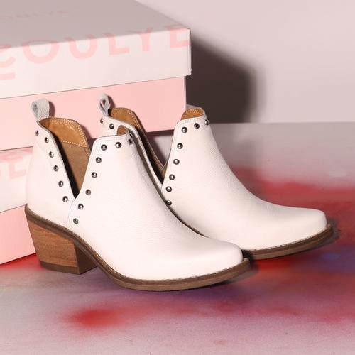botitas blancas verano 2022 Fragola calzados