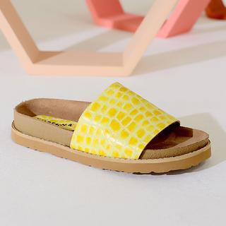 sandalias amarillas verano 2022 Lucerna calzados