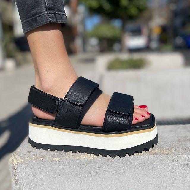 sandalias base de goma alta verano 2022 Sibyl Vane