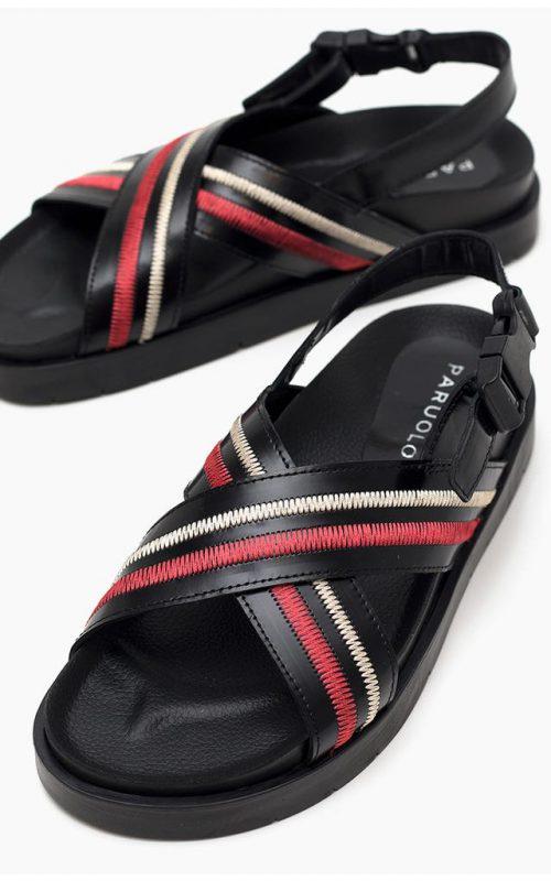 sandalias cruzadas verano 2022 Paruolo