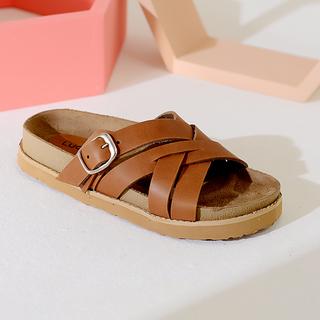 sandalias marrones verano 2022 Lucerna calzados