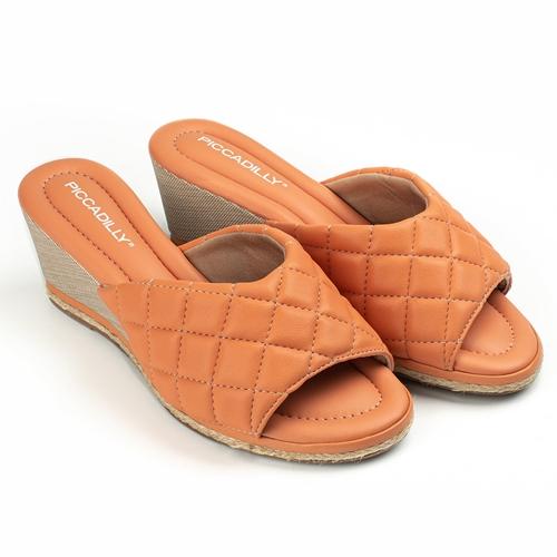 sandalias naranja verano 2022 Calzados Piccadilly