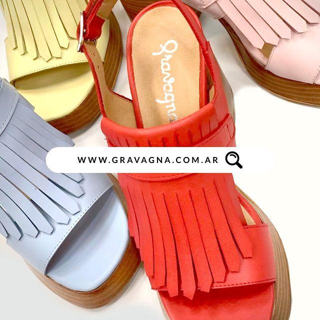 sandalias rojas urbanas verano 2022 Gravagna