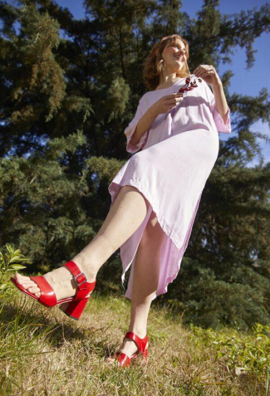 sandalias rojas verano 2022 Sofi Martire