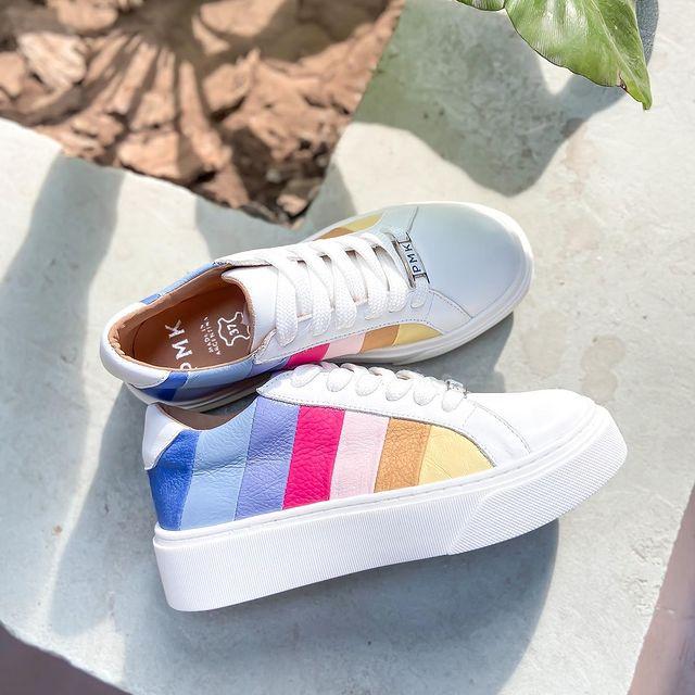 zapatilla multicolor verano 2022 Pamuk