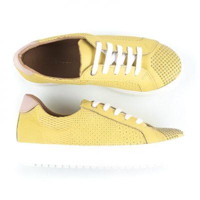 zapatillas amarillas verano 2022 La Leopolda