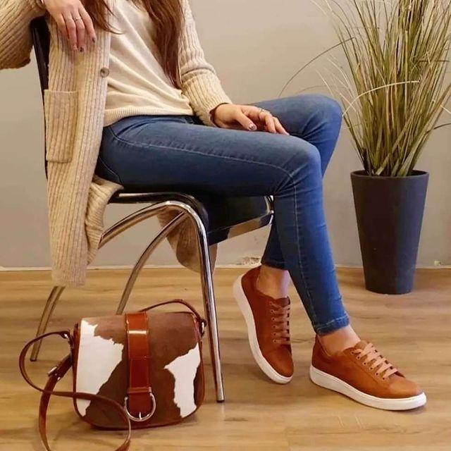 zapatillas marrones para mujer verano 2022 Oggi Calzados