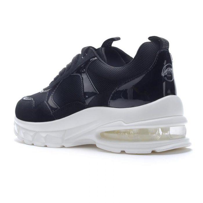 zapatillas negras blancas verano 2022 Hush Puppies