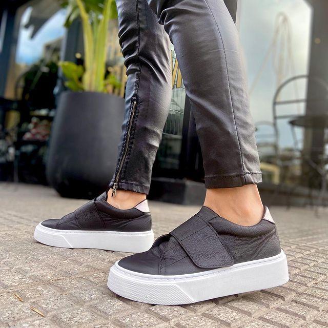 zapatillas negras verano 2022 Pamuk