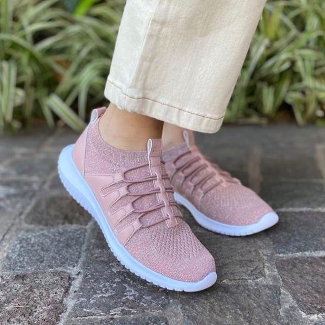 zapatillas rosadas verano 2022 Anca co