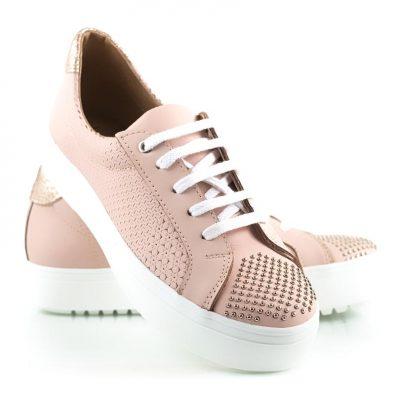zapatillas rosadas verano 2022 La Leopolda