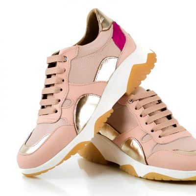 zapatillas urbanas rosadas verano 2022 La Leopolda