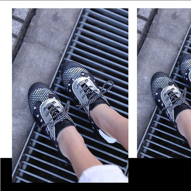 zapatos abotinados punta redonda verano 2022 Luz principe